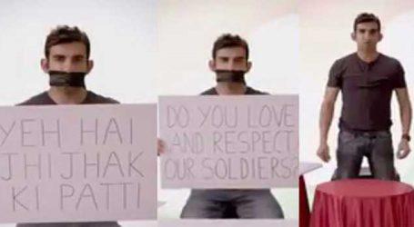 ગૌતમ ગંભીરે શરૂ કર્યુ 'Selfie With Soldier' કેમ્પેન