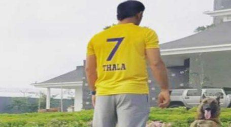ધોનીએ ચેન્નઇ સુપર કિંગ્સનું IPL માં વાપસીનું સ્વાગત કર્યું