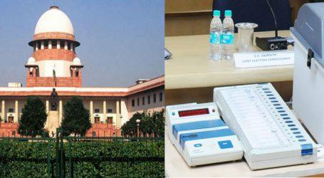 ગુજરાત ચૂંટણીમાં VVPATના ઉપયોગને લઇને EC 4 સપ્તાહમાં આપે જવાબ : SC