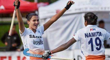 ભારતીય મહિલા ટીમ ચિલીને હરાવી ક્વાર્ટર ફાઇનલમાં પહોંચી