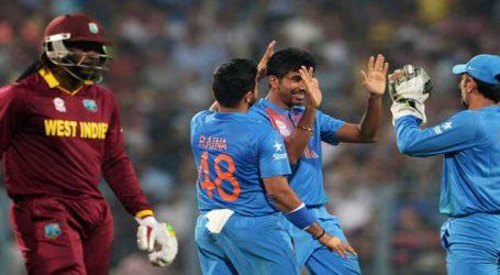 ભારતે વેસ્ટઇન્ડિઝને 93 રનથી હરાવી 2-0 શ્રેણીમાં આગળ