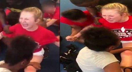 VIRAL VIDEO : દર્દથી રડતી રહી ચિયરલીડર તેમ છતાં કરાઈ પ્રેકટિસ
