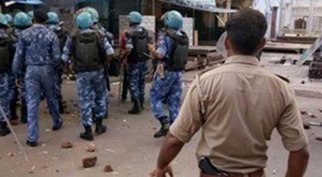 અલીગઢમાં યુવકોની હત્યાના વિરોધમાં હિંસક પથ્થરમારો, 3 પોલીસ કર્મી ઘાયલ