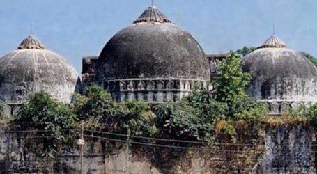 રામ મંદિર બાબરી મસ્જિદ મામલે ૧૧મી ઓગસ્ટે બપોરે બે વાગે સુનાવણી કરાશે
