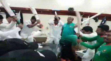 VIDEO: ઓસી. સામે જીત બાદ બાંગ્લાદેશના ખેલાડીઓએ કરી અનોખી ઉજવણી