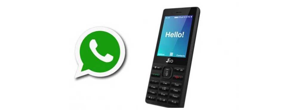 Whatsapp download apps jio