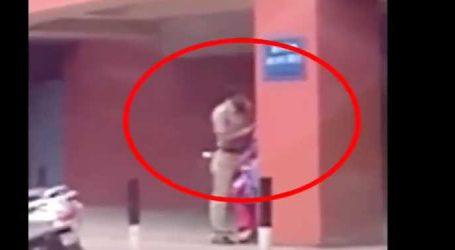 VIDEO : પોલીસ સ્ટેશનમાં જ અશ્લીલ હરકતો કરતા પોલીસકર્મી થયો કેમેરામાં કેદ
