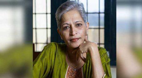 કર્ણાટકના વરિષ્ઠ પત્રકાર શ્રીમતી ગૌરી લંકેશ પર અંધાધૂંધ ગોળીઓ વરસાવીને કરાઈ હત્યા