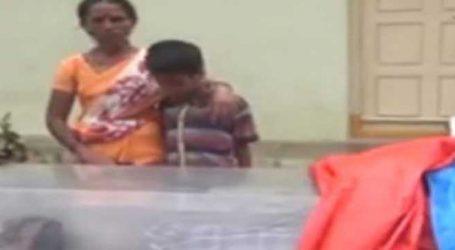 મકાન માલિકની આડોડાઇથી મહિલાએ પુત્રના મૃતદેહની સાથે રોડ પર વીતાવી રાત