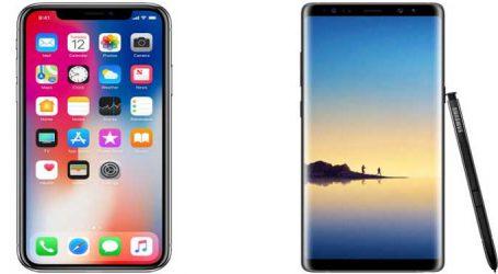 iPhone X vs Galaxy Note 8 : જુઓ બંનેની સરખામણી અને નક્કી કરો કોણ છે બહેતર?