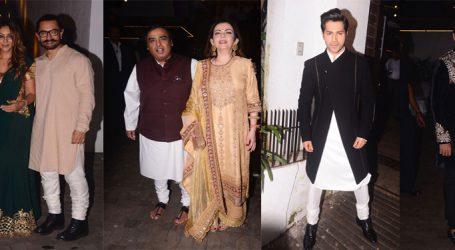 આમિરની Diwali Partyમાં શાહરૂખની સાથે સાથે જોવા મળ્યા આ સેલેબ્સ