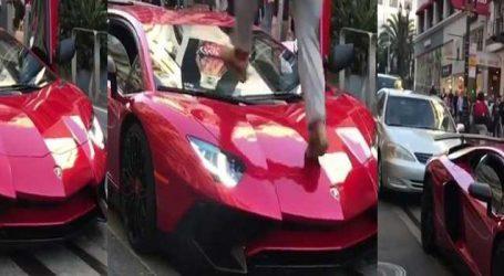 VIDEO: મોંઘીદાટ કારની સાથે થઇ આવી હરકત, માલિકનો શ્વાસ થયો અદ્વર!