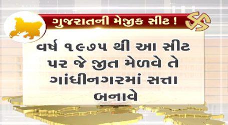 ગુજરાતની મેજીક સીટ, અહીં સીટ જીતવા પર મળે છે ગુજરાતમાં સત્તા !