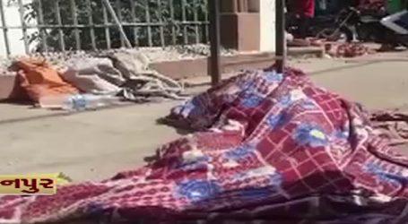 પાલનપુર : માનવતા માટે શરમજનક ઘટના, કિર્તીસ્તંભ ખાતે અજાણી વૃદ્ધાનો મૃતદેહ રઝળાયો