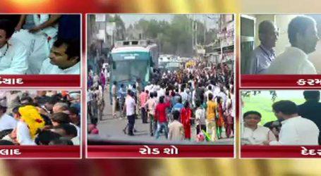 ક્લિક કરો અને જાણો, ગુજરાતમાં આજે રાહુલ ગાંધી ક્યાં ફર્યા અને શું કર્યુ?