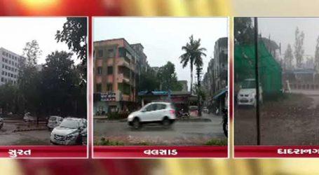 દક્ષિણ ગુજરાતમાં વરસાદી ઝાપટા, કપરાડામાં વીજળી પડતા 1નું મોત, 2 ઘાયલ
