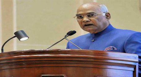 અરૂણાચલ પ્રદેશના લોકો દેશ માટે પ્રેરણાનો સ્ત્રોત: રામનાથ કોવિંદ