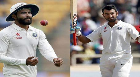 ICC ની ટેસ્ટ રેન્કીંગમાં પૂજારા અને જાડેજા બીજા ક્રમે, જાણો કોણ છે ટોચ પર