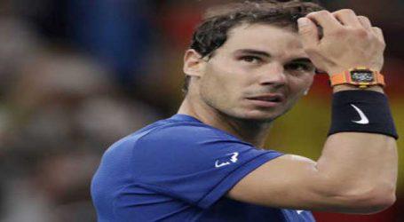 વર્લ્ડ નંબર 1 ટેનિસ ખેલાડી રાફેલ નડાલ પેરિસ માસ્ટર્સમાંથી બહાર થયો