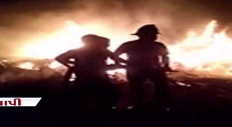 વાપીમાં ભંગાર વેપારીઓ નકામા વેસ્ટ સળગાવી ભાગ્યા, ફાયરબ્રિગેડે આગ પર કાબુ મેળવ્યો