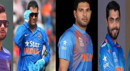 ભારતના આ 5 ક્રિકેટરો પત્ની સાથે રોમેન્ટિક અંદાજમાં જોવા મળ્યા