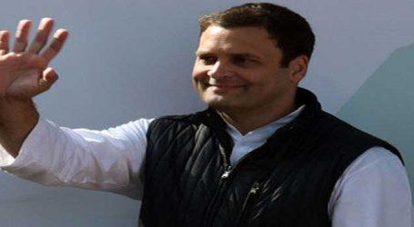 રાહુલ ગાંધીએ હાર સ્વિકારી, ગુજરાત-હિમાચલમાં નવી સરકારને અભિનંદન પાઠવ્યા
