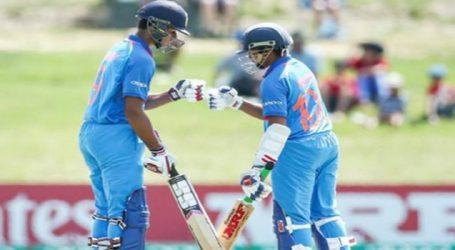 U-19 વર્લ્ડક૫માં ભારતીય ટીમે ઓસ્ટ્રેલિયાને 100 રનથી હરાવ્યું