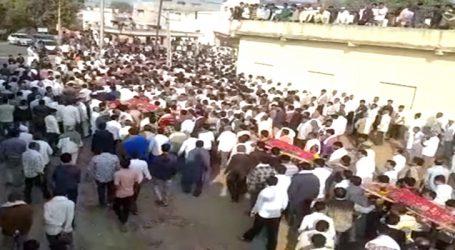 જેતપુરનું ગુંદાળા ગામ હિબકે ચડ્યુ : એક સાથે 9 અર્થી ઉઠતા હૈયાફાટ રૂદન