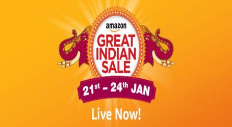 આજથી Amazon Great Indian Sale શરૂ, સ્માર્ટફોન્સ પર મળી રહી છે ધમાકેદાર ઓફર્સ