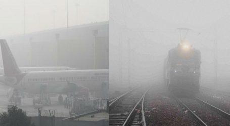 દિલ્હીમાં કાતિલ ઠંડી, જનજીવન ખોરવાયું, 30 ફ્લાઈટ મોડી, 3 ફ્લાઈટને રદ