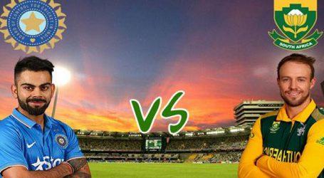 આજે ભારત અને દક્ષિણ આફ્રિકા વચ્ચે પ્રથમ ટેસ્ટ મેચ કેપટાઉનમાં રમાશે