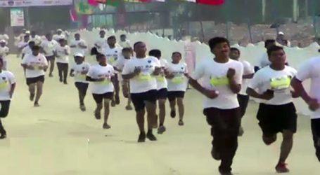 ભાવનગરમાં 10 હજાર લોકોએ દોડ લગાવી : 12 વિદેશીએ ૫ણ ભાગ લીધો