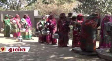 પંચમહાલ: જોરિયા કૂવા ગામમાં પાણીની રોજિંદી સમસ્યાઓથી ગ્રામજનો પરેશાન