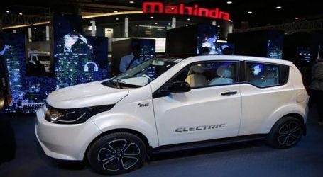 Auto Expo: Mahindra એ રજૂ કરી ઇલેક્ટ્રિક KUV100, આવા છે ફીચર્સ