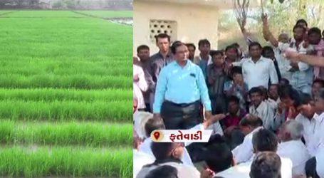 જગતનો તાત ચિંતામાં, સિંચાઇ વિભાગના ડેપ્યુટી ઈજનેરે ખેડૂતોને આપ્યું આશ્વાસન