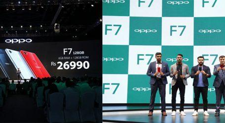 Oppo-F7 ભારતમાં લોન્ચ, 25 મેગાપિક્સલ ફ્રન્ટ કેમેરા