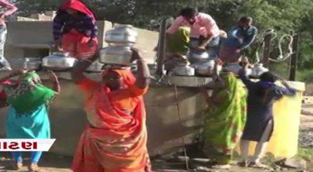 પાટણ: શંખેશ્વરના ખાખબડી ગામમાં પાણીની પળોજણ