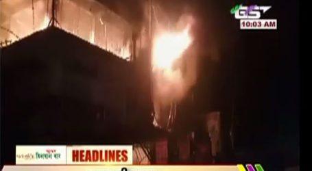 બનાસકાંઠાના દિયોદરમાં હેપ્પી મોલમાં મોડી રાત્રે ભીષણ આગ, પોલીસે તપાસ હાથ ધરી