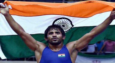 કોમનવેલ્થ: બજરંગ પૂનિયાએ ભારતને 17મો ગોલ્ડ અપાવ્યો