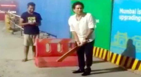 મજૂરો સાથે સચિન તેંડુલકરની ગલી ક્રિકેટ, વાયરલ થઇ રહ્યો છે Video