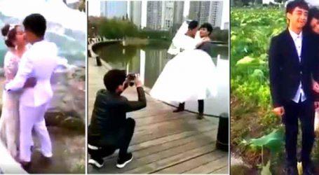 લગ્નનું આ Photo Shoot જોતાં જ હંસી-હંસીને થઇ જશો લોટપોટ