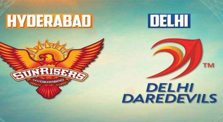 IPLમાં આજે દિલ્લી વિ. હૈદ્રાબાદ, હૈદ્રાબાદ માટે ધવનનું ફોર્મ ચિંતાજનક