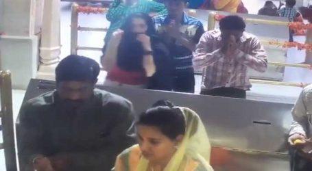 Viral Video: મેચ પહેલા પ્રીતિ ઝીન્ટા મોઢું ઢાંકી મંદિર પહોંચી