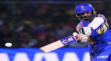 IPL: ત્રિપાઠીની અર્ધસદી, રાજસ્થાને બેંગલુરૂને 165 રનનો લક્ષ્યાંક આપ્યો