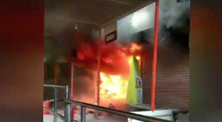 અગરબત્તીની દુકાનમાં લાગી ભીષણ આગ : જુઓ વીડિયો