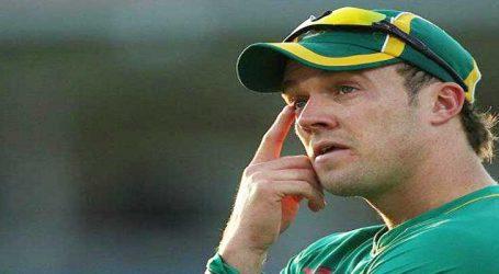 AB de Villiersએ કરી સન્યાસની ઘોષણા, કહ્યું 'હવે હું થાકી ગયો છું'