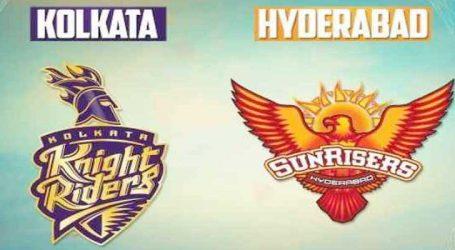 IPL: આજની મેચમાં હૈદ્રાબાદને ભુલ સુધારવાની તક