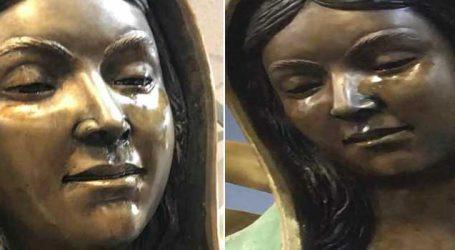 અમેરિકાના એક ચર્ચમાં મધર મેરીની પ્રતિમાની આંખોમાંથી આંસુ નીકળ્યા