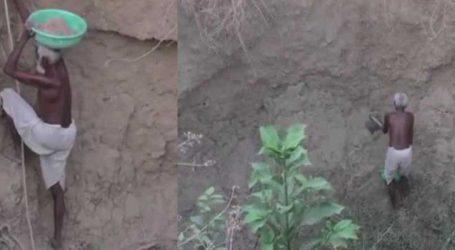 આ ગામમાં પાણી ન હતું, 70 વર્ષની ઉંમરમાં પણ આ વ્યક્તિએ બનાવ્યો કૂવો