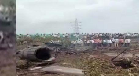 મહારાષ્ટ્રના નાસિકમાં વાયુસેનાનું સુખોઈ-30 એમકેઆઈ યુદ્ધવિમાન ક્રેશ